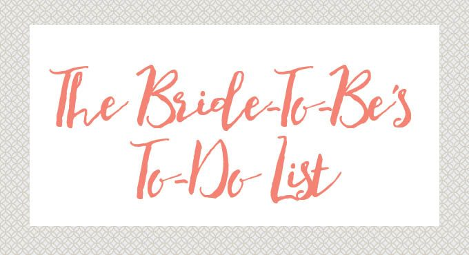 The Bride-To-Be's To-Do List Logo